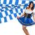 composite image of pretty oktoberfest girl spreading skirt stock photo © wavebreak_media