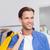 幸せ · 男 · ショッピングバッグ · 服 · ストア · 販売 - ストックフォト © wavebreak_media