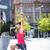 ハンサム · 選手 · ボディ · ストレッチング · 側面図 - ストックフォト © wavebreak_media