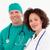 retrato · médico · cirujano · verde - foto stock © wavebreak_media