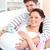 feleség · férj · tart · babacipők · terhes · kicsi - stock fotó © wavebreak_media