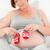 terhes · nő · gyerekek · cipők · otthon · nő · boldog - stock fotó © wavebreak_media
