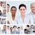 Collage · Geschäftsleute · unterschiedlich · Büro · Arbeit - stock foto © wavebreak_media