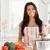 美人 · 野菜 · 立って · キッチン · 女性 · 手 - ストックフォト © wavebreak_media