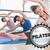 pilates against badge stock photo © wavebreak_media
