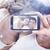 összetett · kép · kéz · tart · okostelefon · mutat - stock fotó © wavebreak_media