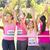 sorridente · mulheres · corrida · câncer · de · mama · consciência - foto stock © wavebreak_media