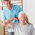 Senior · Erwachsenen · Mann · Fitnessstudio · tätig - stock foto © wavebreak_media
