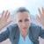empresária · sentimento · apertado · negócio · mulher · trabalhador - foto stock © wavebreak_media