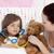 ziek · dochter · spelen · stethoscoop · moeder · bed - stockfoto © wavebreak_media