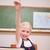 iskolás · lány · kéz · alapfokú · kor · fókusz · tanár - stock fotó © wavebreak_media
