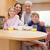 портрет · улыбаясь · семьи · завтрак · кухне · дома - Сток-фото © wavebreak_media