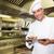 lächelnd · männlich · Koch · digitalen · Tablet · Küche - stock foto © wavebreak_media