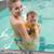 güzel · anne · bebek · yüzme · havuzu · boş - stok fotoğraf © wavebreak_media