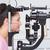 女性 · 検眼医 · 調べる · 患者 · 眼科 · クリニック - ストックフォト © wavebreak_media