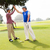 golfen · vrienden · glimlachend · golfbaan · man - stockfoto © wavebreak_media