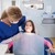 pediatric dentist examining her smiling young patient stock photo © wavebreak_media