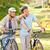 mature couple with their bikes stock photo © wavebreak_media