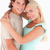 Portrait of a happy couple smiling in a studio stock photo © wavebreak_media