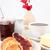 tabel · presentatie · croissant · jam · binnenshuis · bloemen - stockfoto © wavebreak_media