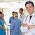 lekarza · uśmiechnięty · kamery · szpitala · muzyka · zespołu - zdjęcia stock © wavebreak_media