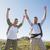 mutlu · yürüyüş · çift · kazanan · başarı - stok fotoğraf © wavebreak_media