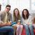 моде · студентов · улыбаясь · камеры · вместе · колледжей - Сток-фото © wavebreak_media