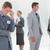 ansioso · empresario · oficina · retrato · cara · trabajador - foto stock © wavebreak_media