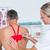 médico · pescoço · mulher · quarto · homem · médico - foto stock © wavebreak_media