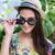 портрет · женщину · соломенной · шляпе · природы · морем · лет - Сток-фото © wavebreak_media
