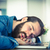 исчерпанный · бизнесмен · спальный · столе · служба · человека - Сток-фото © wavebreak_media