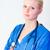 orvos · mosolyog · kamera · fiatal · női · arc - stock fotó © wavebreak_media