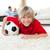 mosolyog · fiú · néz · futball · gyufa · padló - stock fotó © wavebreak_media