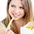mangiare · patatine · bianco · donna · grasso - foto d'archivio © wavebreak_media