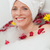 Beautiful woman taking a relaxing bath with a towel on her head  stock photo © wavebreak_media