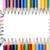 cor · lápis · retângulo · branco · abstrato · caneta - foto stock © wavebreak_media