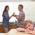 печально · мало · мальчика · родителей · кухне - Сток-фото © wavebreak_media