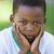 портрет · мальчика · лице · крест · молодые · молодежи - Сток-фото © wavebreak_media