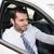 молодые · бизнесмен · сиденье · автомобилей · бизнеса · окна - Сток-фото © wavebreak_media