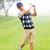ゴルファー · ゴルフバッグ · 男 · 肖像 · 袋 - ストックフォト © wavebreak_media