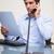 молодые · бизнесмен · документы · телефон · бумаги - Сток-фото © wavebreak_media