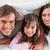 boldog · szülők · lánygyermek · hálószoba · szeretet · otthon - stock fotó © wavebreak_media