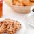 cookies · beker · koffie · witte · platen · suiker - stockfoto © wavebreak_media