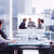 composite image of group of business people looking at a screen stock photo © wavebreak_media