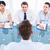 kandidaat · sollicitatiegesprek · kantoor · computer · vrouw · vergadering - stockfoto © wavebreak_media
