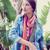 モデル · 袋 · 屋外 · いい · 少女 · ポーズ - ストックフォト © wavebreak_media