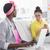 grupo · mulheres · reunião · criador · escritório · negócio - foto stock © wavebreak_media