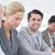 üzleti · csapat · jegyzetel · konferencia · iroda · üzlet · boldog - stock fotó © wavebreak_media