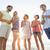 grupo · jovem · amigos · verão · praia - foto stock © wavebreak_media