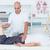 paciente · fisioterapia · massagem · mulher · homem · esportes - foto stock © wavebreak_media